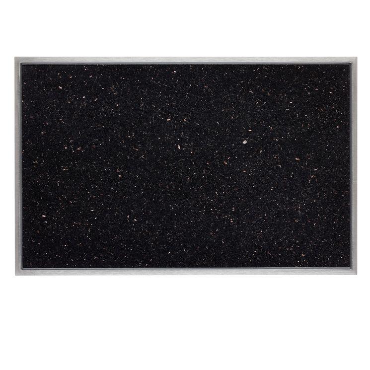 Planche à découper intégrée en granit Galaxy star CACGT001