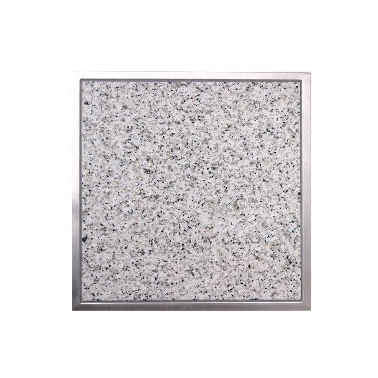 Planche à découper intégrée en granit Bianco cristall CACGT004