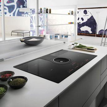Plaque de cuisson avec hotte intégrée Elica NIKOLATESLA HP - Évacuation