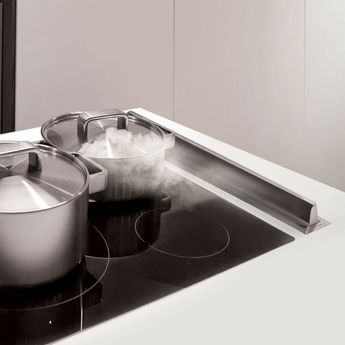 Hotte cuisine escamotable Silverline EVE inox