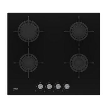 Plaque gaz noir Beko HILG64221S