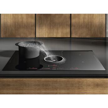 Plaque de cuisson avec hotte intégrée Elica NIKOLATESLA ONE HP  - Évacuation