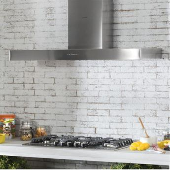 Hotte cuisine murale Silverline XENY inox 120 cm