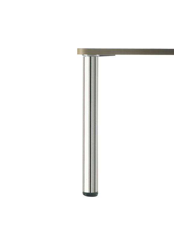 PIED DE TABLE ROND Inox poli H 820 x  80