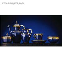 Évier céramique à poser KATE 1 bac bleu de Sèvres (795 x 470 x 220 mm)